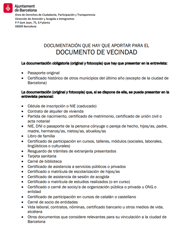 Amjd - برشلونة تصدر بطاقات اقامة للمهاجرين السريين
